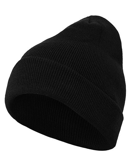 BY001 Build Your Brand Heavy Knit Beanie